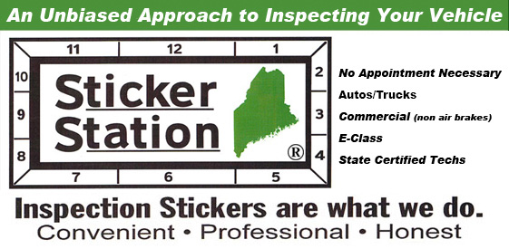 Maine Inspection Sticker Station, Biddeford, Sanford, ME